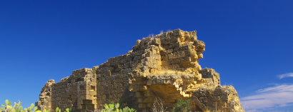 Sizilien-Urlaub - Archäologische Wanderung bei Altavilla Milicia - Die Normannen-Kirche Santa Maria di Campogrosso