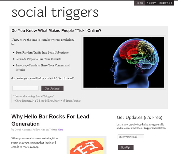 Social Triggers on Thesis Framework