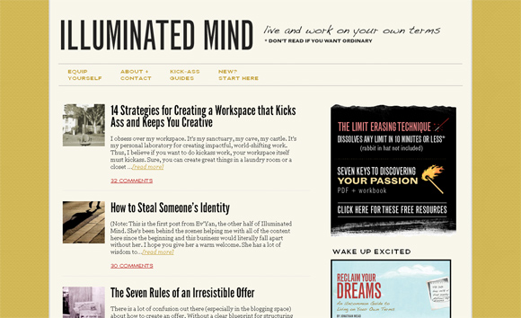 Illuminated Mind on Thesis Framework