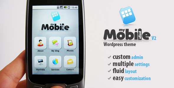 My Mobile v2 Mobile WordPress Theme