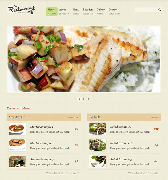 Restaurant Pro Free WordPress Theme