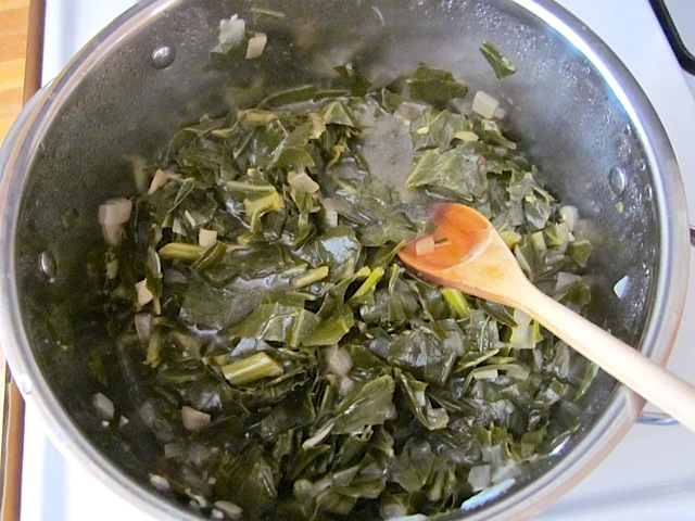 collard greens cook 3