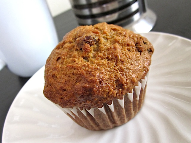 enjoy morning glory muffin