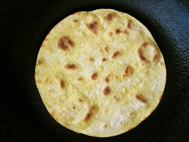 toast tortilla
