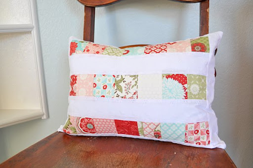 Pieced Throw Pillow