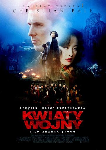 Przód ulotki filmu 'Kwiaty Wojny'