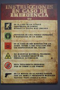 Cartel advertencia