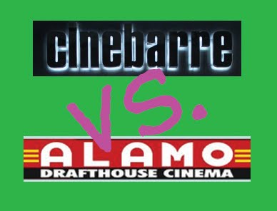 Cinebarre vs. Alamo Drafthouse: Fight!