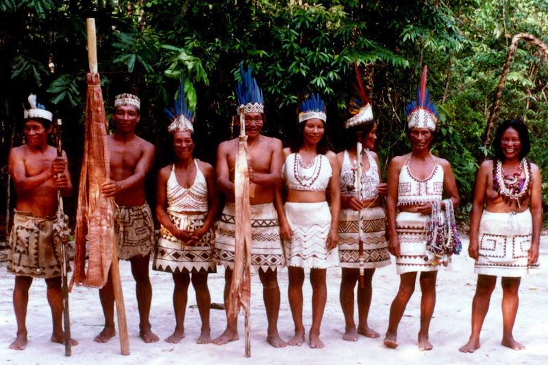 South American Tribal Women Amazon river tribe