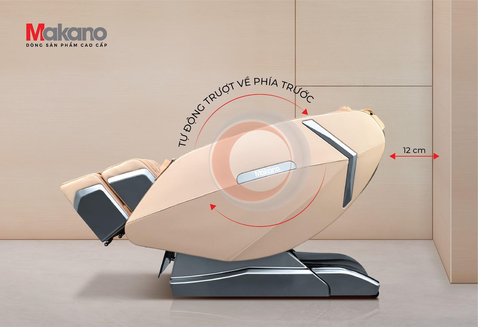 Thiết kế ghế massage toàn thân tiết kiệm không gian
