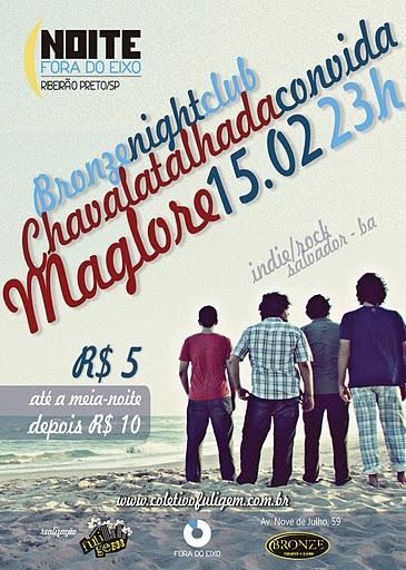Os baianos da Maglore já estão em Ribeirão Preto! Logo estarão no Bronze com a Chavala Talhada!