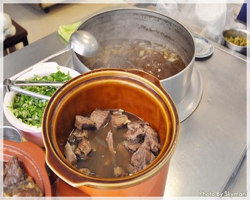 台中-張記牛肉麵