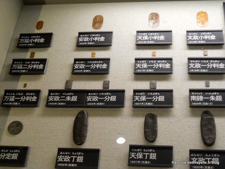 Pièces anciennes ryô