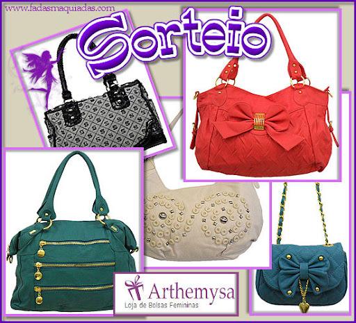 Sortei - Arthemysa Bolsas Femininas