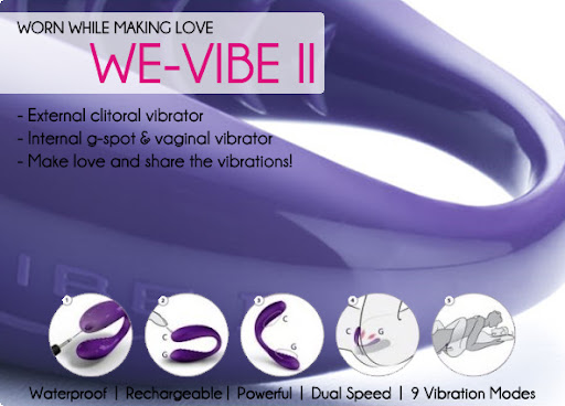 We-Vibe II on sale now, the ultimate sex toy for couples!