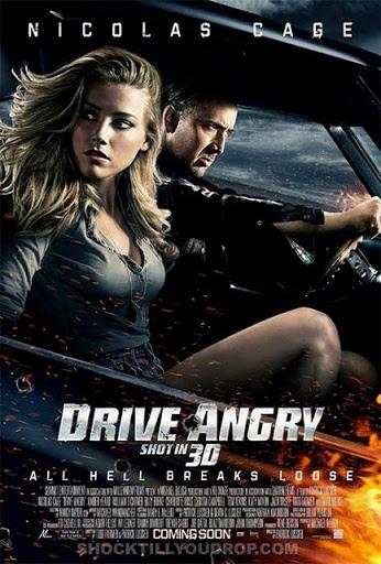 โปสเตอร์ Drive Angry 3D