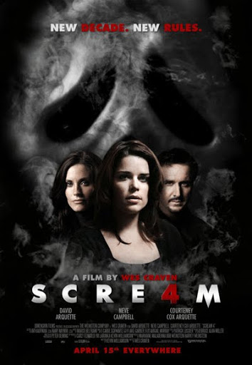 โปสเตอร์ Scream 4
