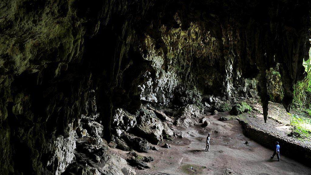 Situs Liang Bua  di Desa Liang Bua, Kecamatan Rahong Utara, Manggarai, Nusa Tenggara Timur, Sabtu (17/1/2015). Tempat ini merupakan lokasi ditemukannya Homo floresiensis pada  2003.