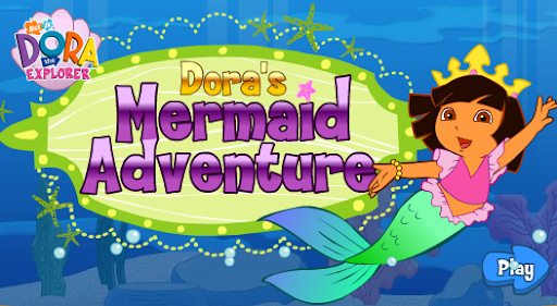 Nick Jr. Dora Mermaid Game