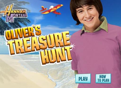 Disney Hannah Montana Oliver's Treasure HuntGame