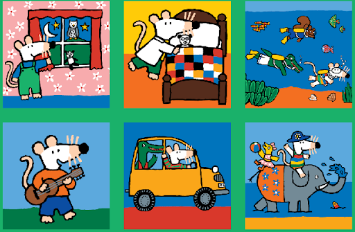 Maisy's Jigsaw Puzzle Game