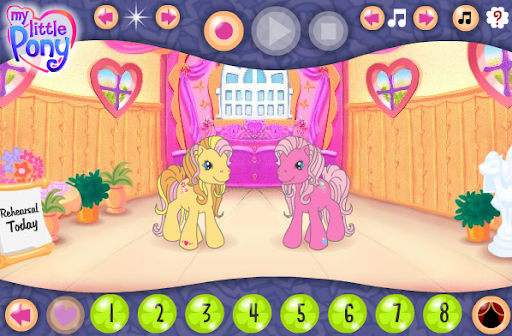 Hasbro My Little Pony Dance Studio Game