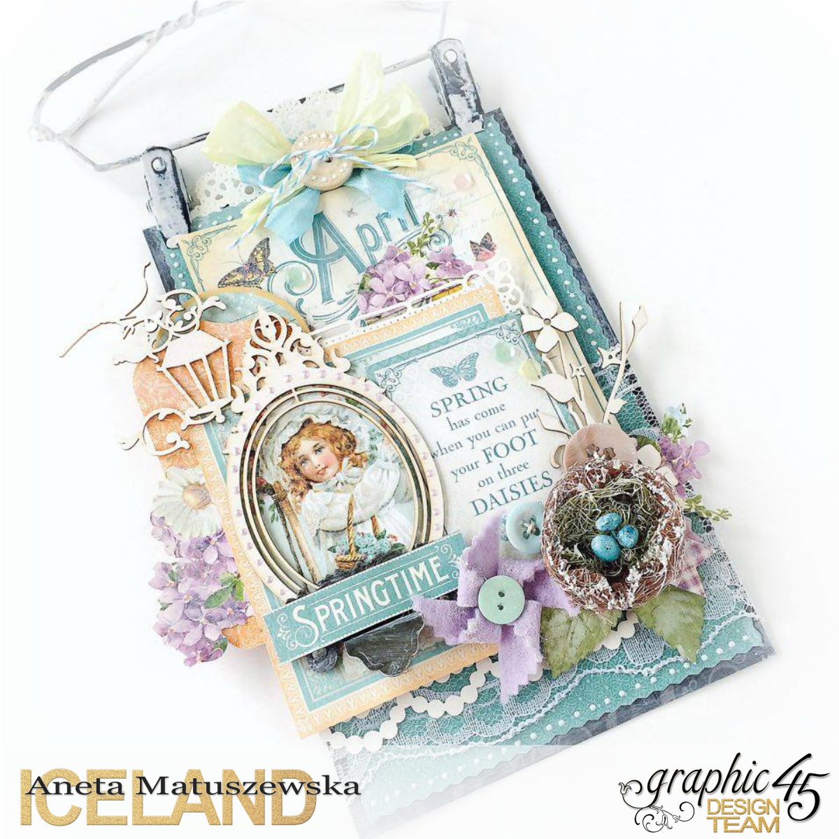 Time to Flourish spring banner for Graphic 45, by Aneta Matuszewska, photo 1.png