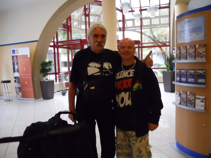 Russell Gilbrook & LT - Szekesfehervar, 09 September 2010
