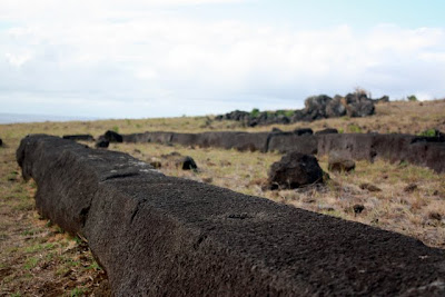 Easter Island ruins