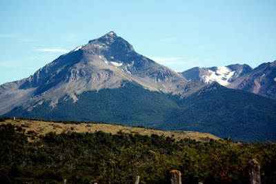 Mountain in Torres del Paine National Park in Chile