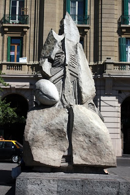 Sculpture in Santiago Chile