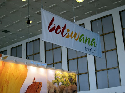 ITB Berlin Travel Trade Show Botswana pavilion