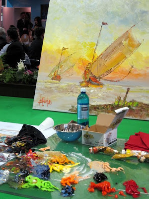 Art at the ITB Berlin Travel Trade Show in Germany
