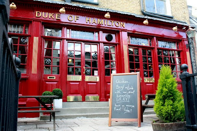 Duke of Hamilton Pub in Hampstead London