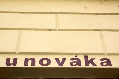 Prague restaurant Hospoda U Novaka