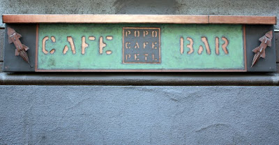 Popo Cafe Petl bar in Prague Czech Republic