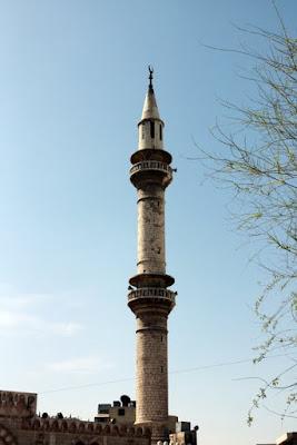 Minaret in Amman Jordan