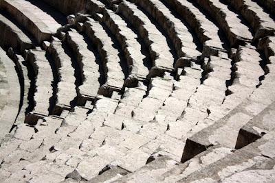 Amman Roman amphitheater steps