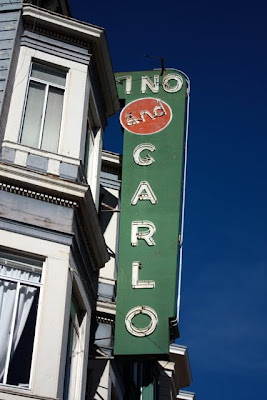 Sign for a hotel in San Francisco California