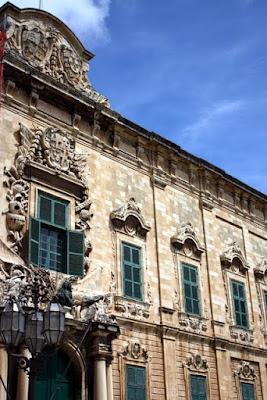 Palace in Valletta Malta