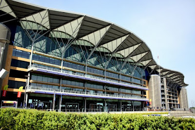 Ascot Racecourse in Berkshire England