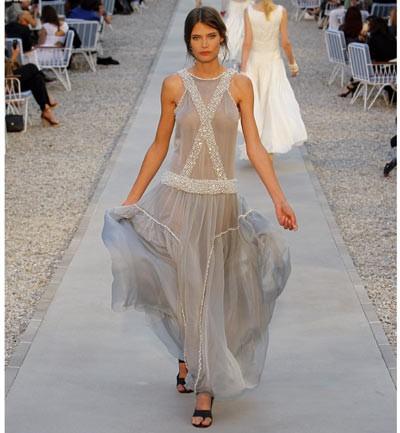 Alquiler vestidos fiesta chanel
