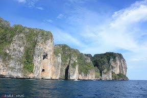 koh phi phi's cliffs