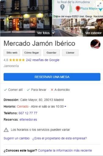 escribir reseñas en Google