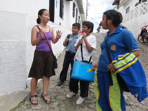 Jack and Jill vs the Giron School Kids in Colombia