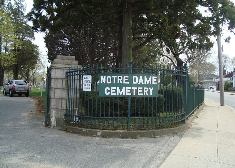 Notre-Dame, Fall River - Main Gate
