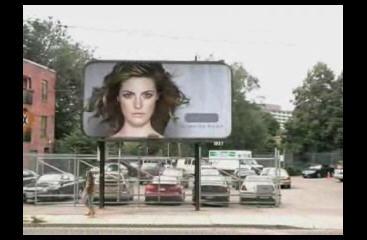 廣告美女就是這麼來的