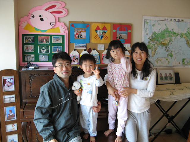 Host and Family in Seoul