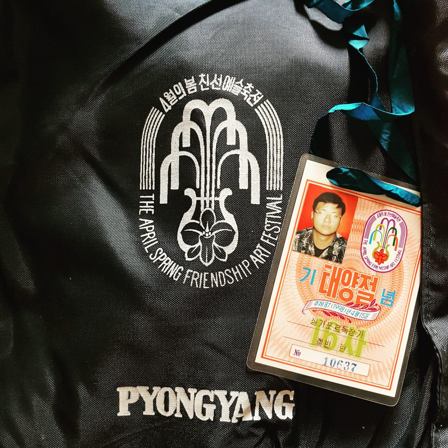 North Korean Performer's Pass
