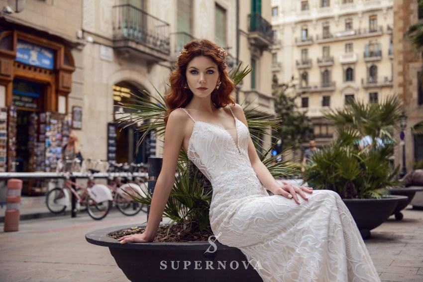 Легкое свадебное платье оптом